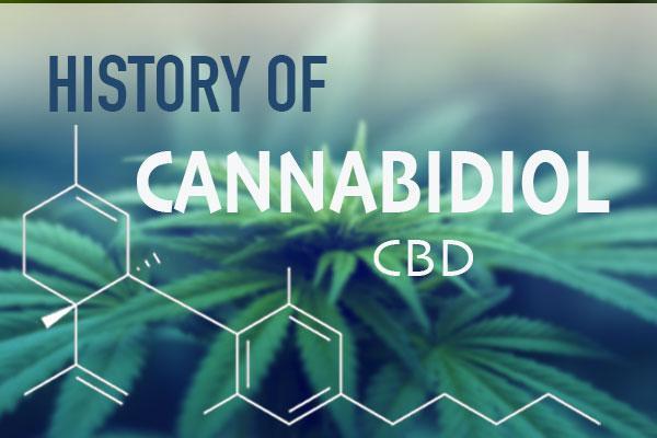 the modern history of cannabidiol cannabis sciences