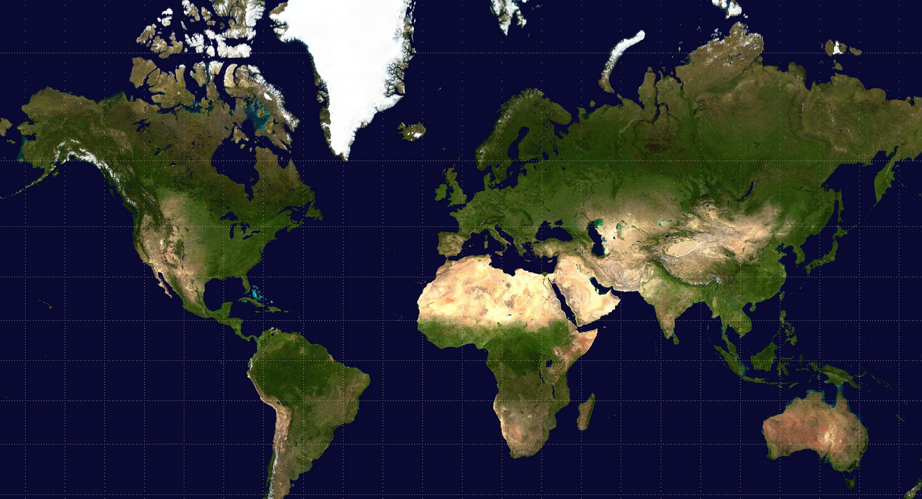 Here S Why Flat Maps Of The World Aren T Drawn To Scale Videos