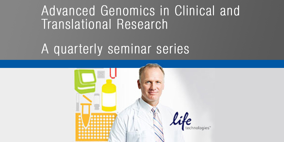 Advanced Genomics in Clinical and Translational Research - Fall